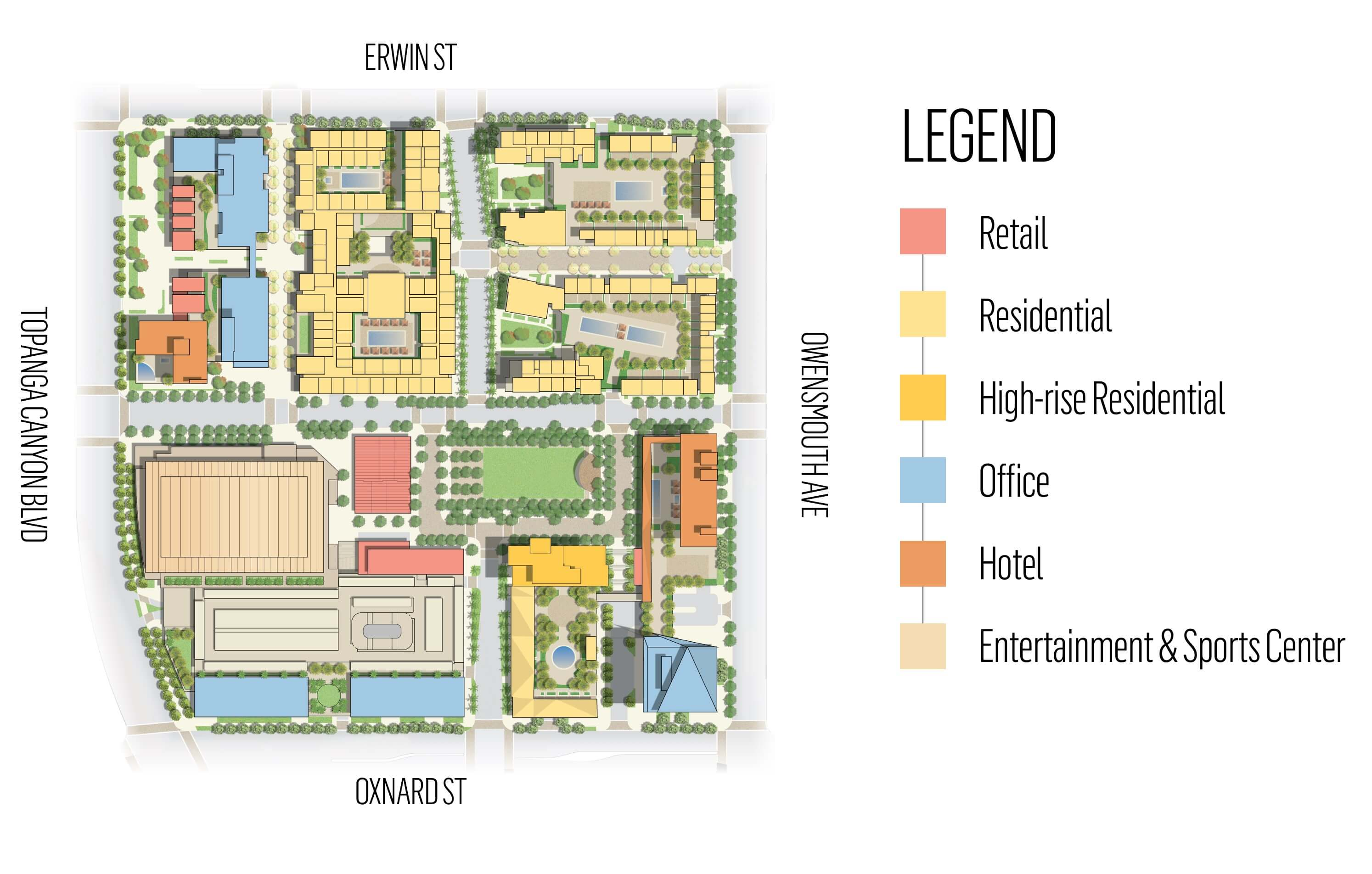 Warner Center Plan - Podium