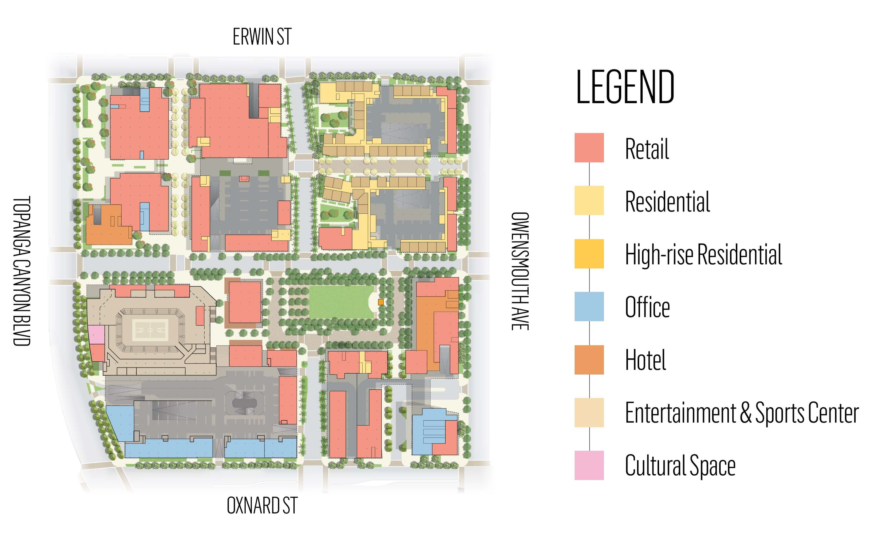 Warner Center Plan - Ground