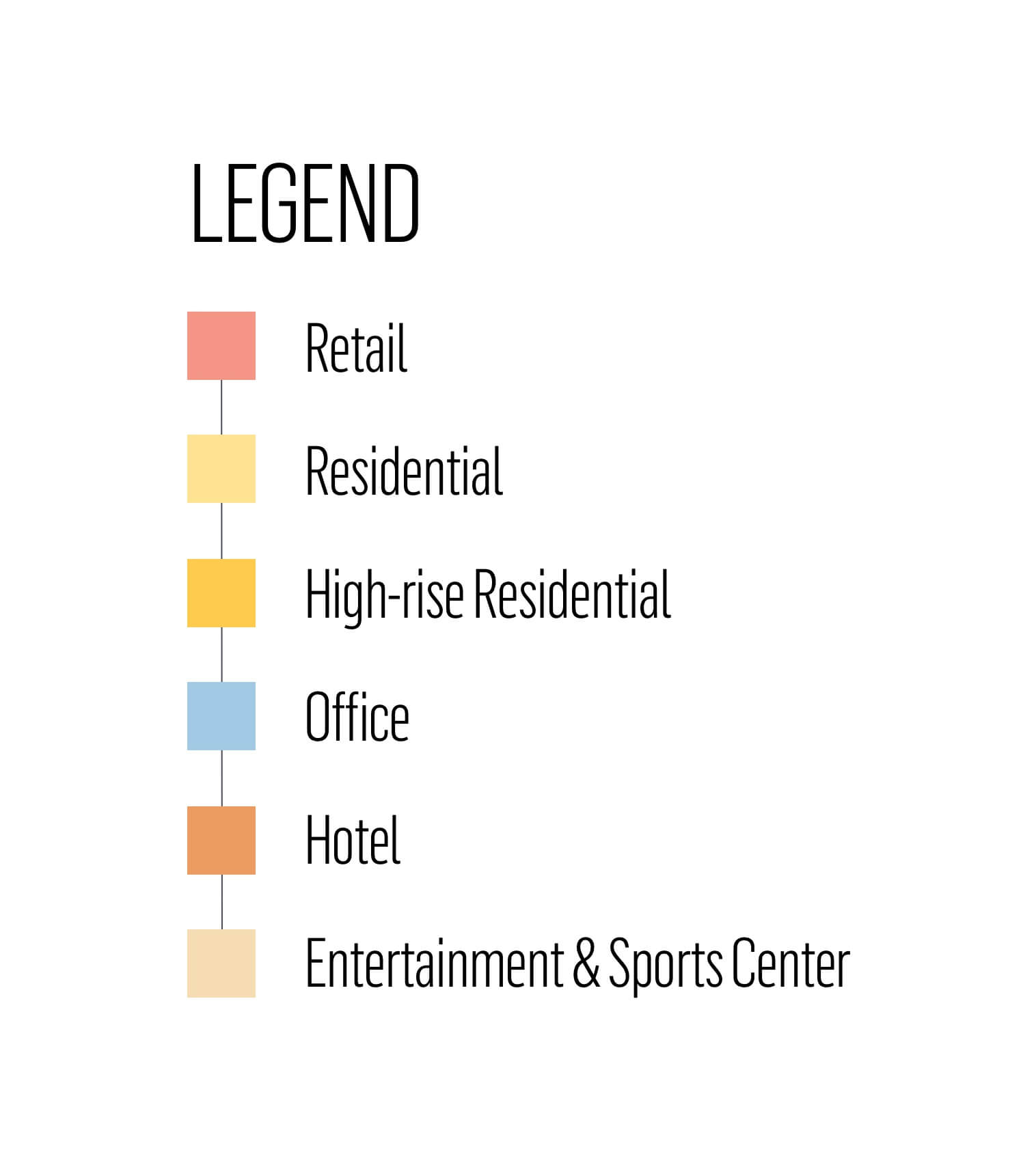 Warner Center Plan - Podium Legend